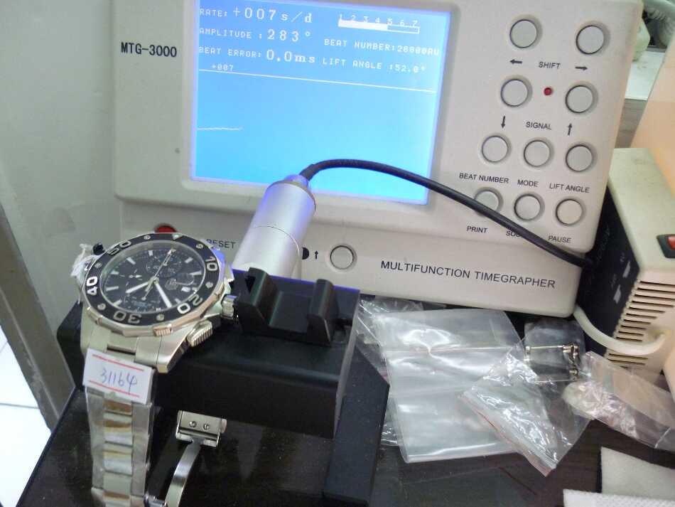 Tag Heuer Watch Test