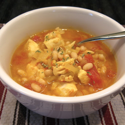 #103 - Saffron Fish & Bean Soup