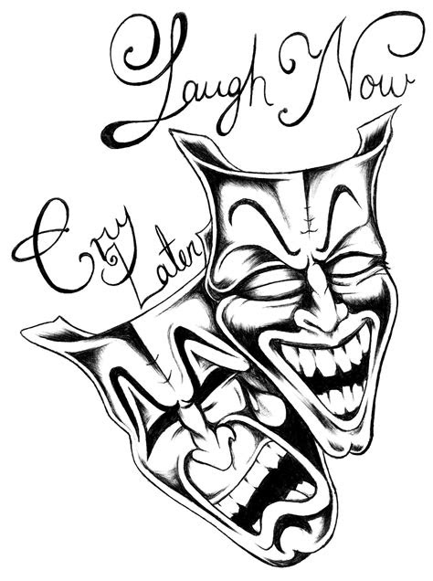laugh  cry  coloring pages