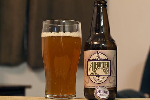 Review: Abita Restoration Pale Ale by Cody La Bière