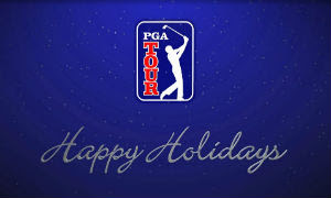 PGA Tour holiday wishes