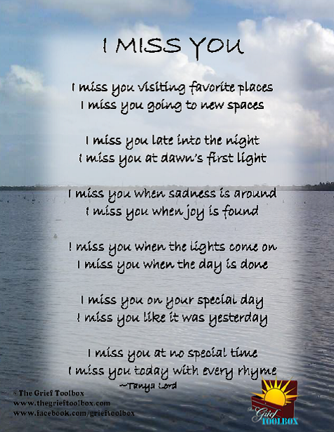Poeme I Miss You