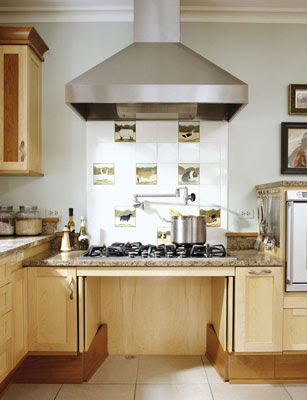 Home Design Tips - Adding Accessibility to a Kitchen