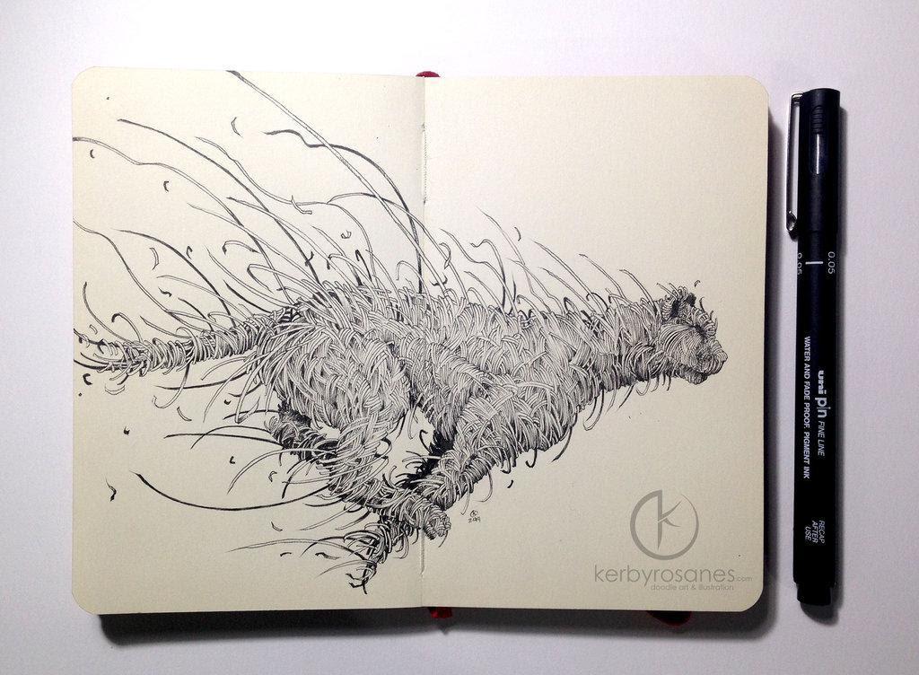 Kerby | Moleskine Doodles | Cheetah