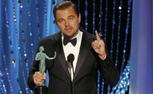 DiCaprio ganó el Premios SAG como mejor actor