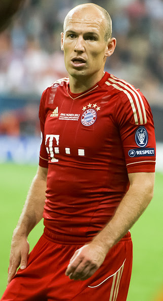 Arjen Robben Dutch Professional Footballer nice and beautiful pics