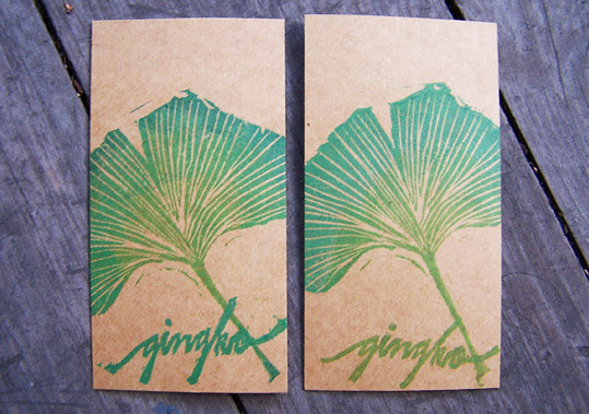 Gingko stamp
