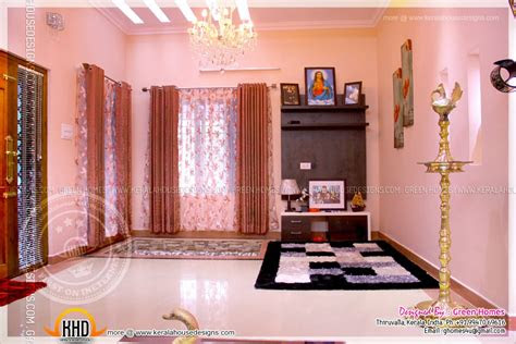 completed home  interior  kerala home design