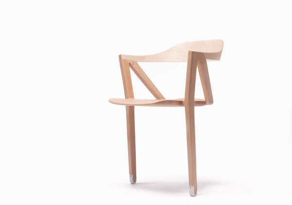 Two Legged Chair Creates Bearable Discomfort for Better Health in main home furnishings  Category