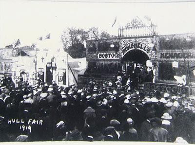 Bostock and Wombwell 1919
