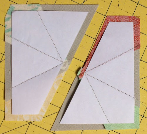 Foundation Paper Pieced Kaleidoscope Block Tutorial