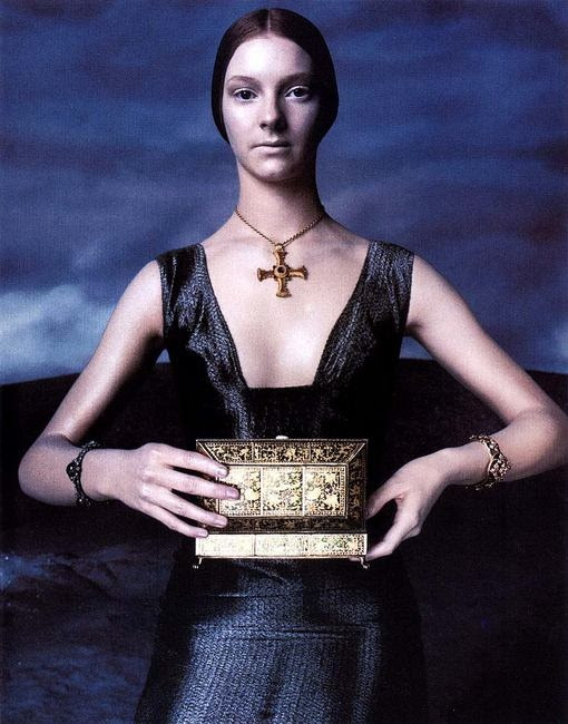 Versace - Steven Meisel - 1998FW - Versace Advertorial Photoshoot - fashion ads