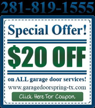 discount garage door spring tx