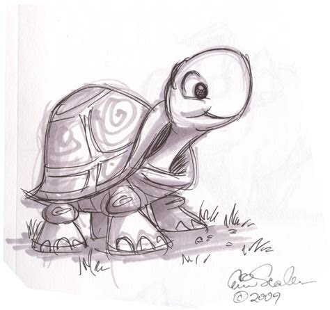 ol sketchbook cute turtle
