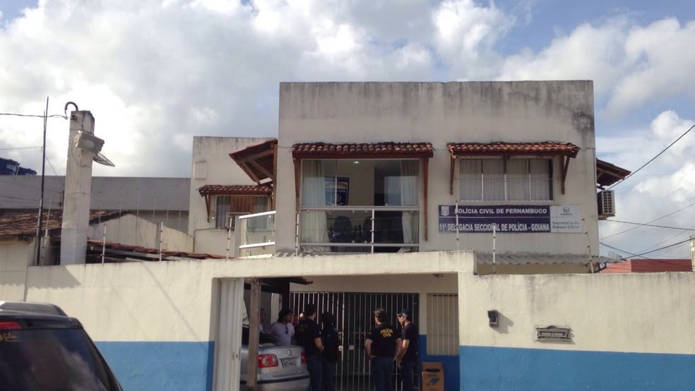 Resultado de imagem para delegacia em Goiana