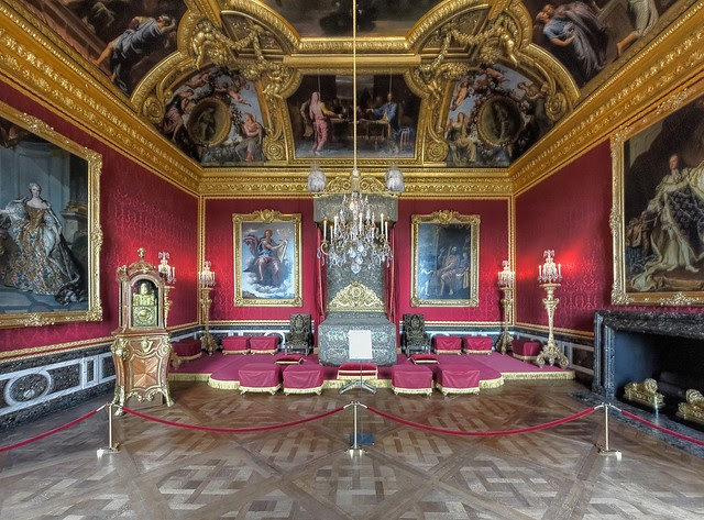 This is versailles the king 39 s grand apartments for Salon versailles