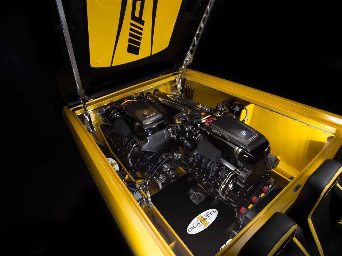 Mercedes-AMG GT inspired Cigarette Racing 50 Marauder GTS ...