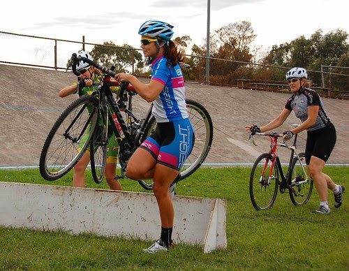 Experienced junior racers getting a taste of CX