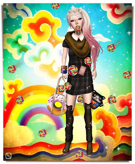 Catch A Falling . . . Rainbow Lolli