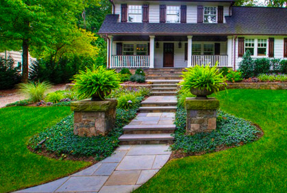 Best Front Yard Landscaping Pictures & Designs