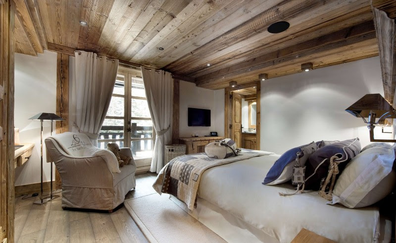 The Petit Chateau, a Luxury Ski Chalet in Courchevel | HomeDSGN, a ...