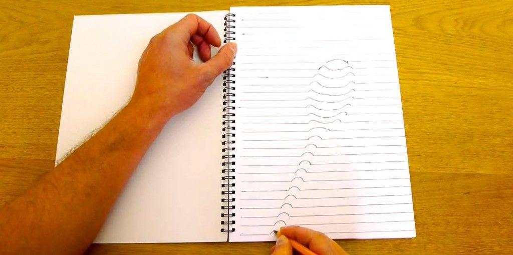 絶対にやってみたくなる簡単に3dの絵を描く方法 ガジェット通信