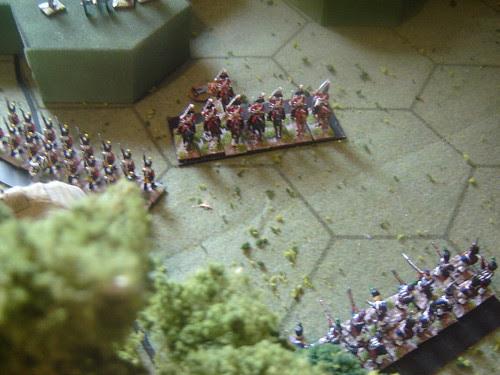 British cavalry repulsed