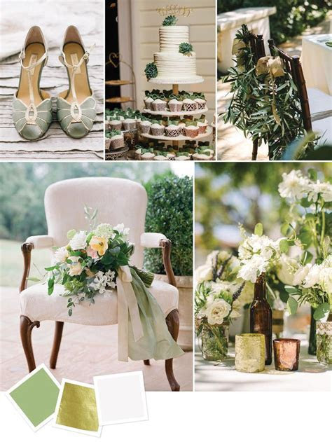 25  best ideas about Green Gold Weddings on Pinterest