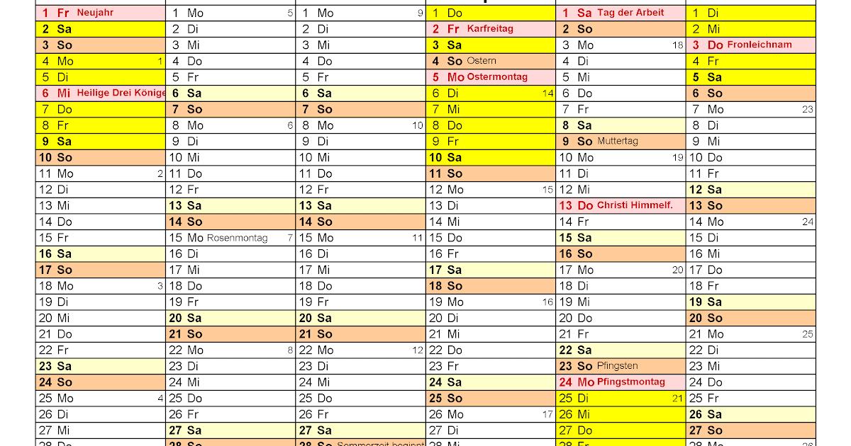 Schulkalender 2021 Ferien Bw 2021 / Sparkassen ...