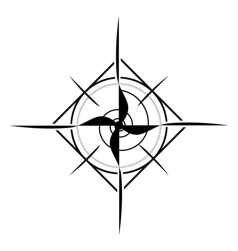 Compass Rose Tattoo Designs Clip Art Library