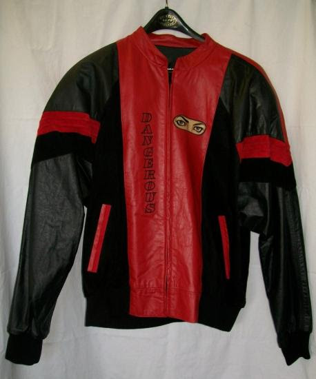 Michael Jackson Dangerous Tour Jacket Front