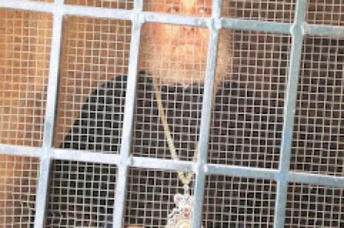 ο φυλακισμένος πατριάρχης ειρηνέος στα ιεροσόλημα