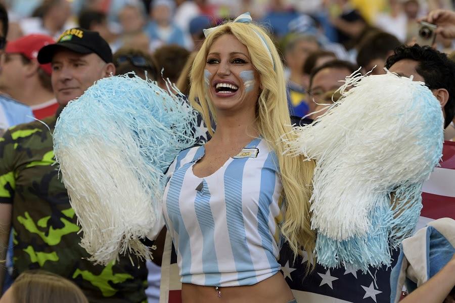 A argentina faz a festa