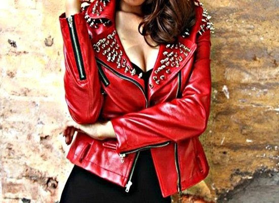 Red Spiked Jacket