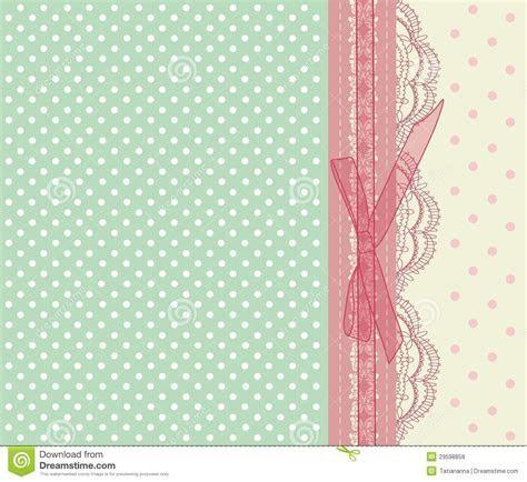 Vintage Pink Wedding Card Vector Stock Vector