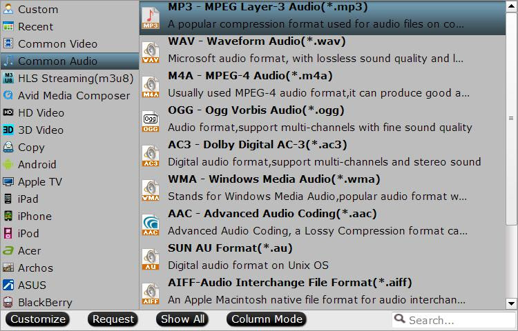 vlc to mp3