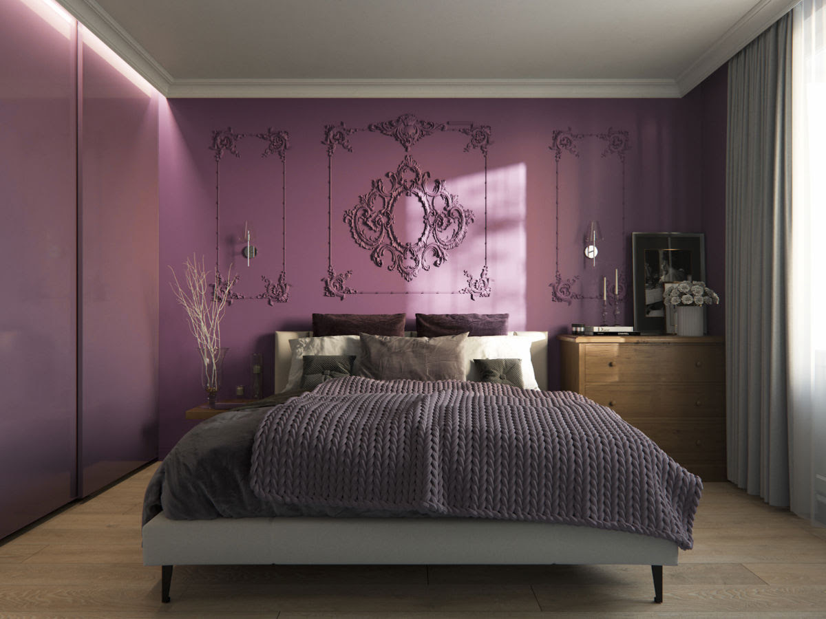 33 Purple Themed Bedrooms With Ideas Tips Accessories To Help You Design Yours