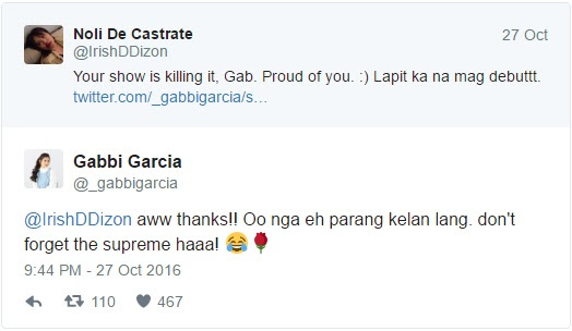 Gabbi Garcia On Being A Fan Of JaDine: 'Im a silent fan!'