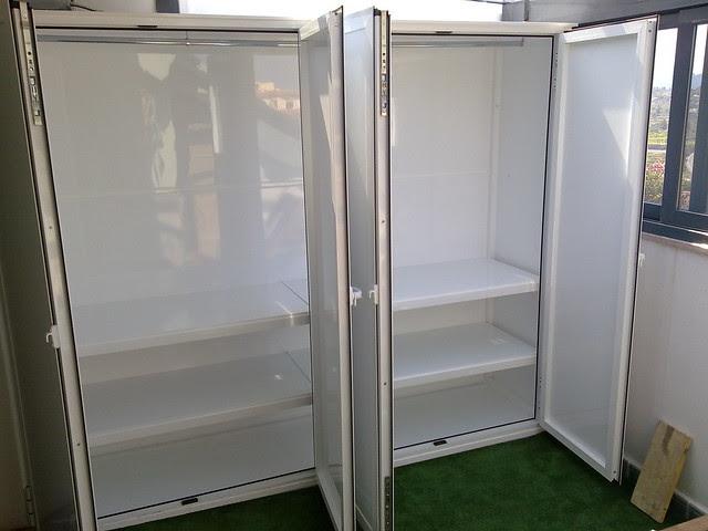 C mo decorar la casa armario de aluminio para exterior - Armario calentador gas exterior ...