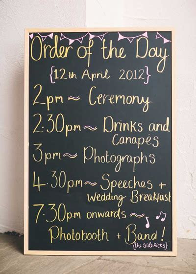 The Traditional Wedding Day Running Order   Warwick House