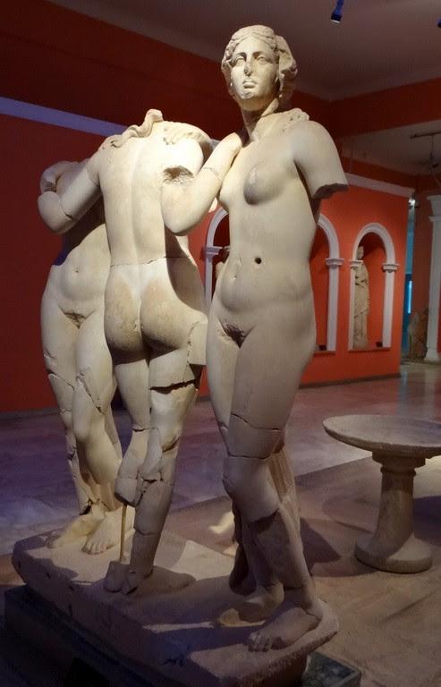 Three Graces, Hera, Athena, Aphrodite, daughters of Zeus