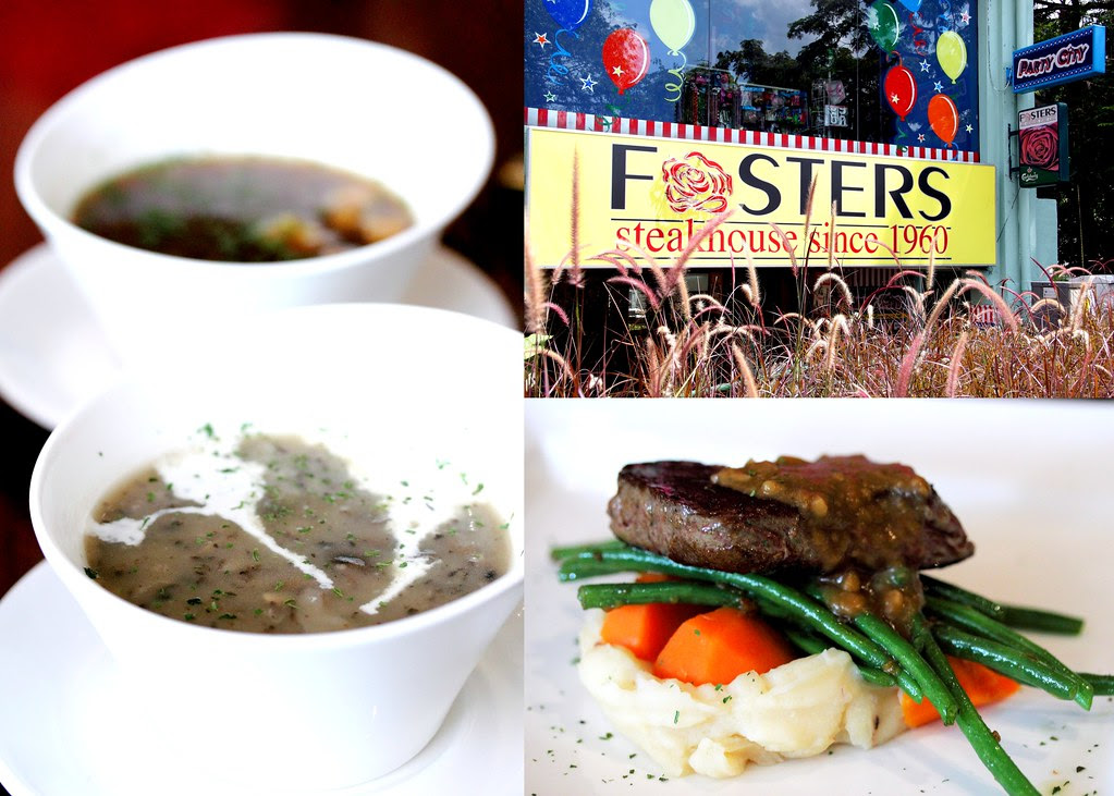 Fosters SteakHose Collages