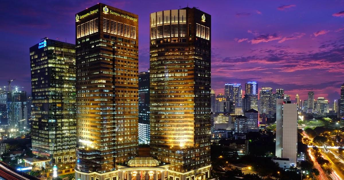 48 Aksesoris Gambar Kota Jakarta Di Malam Hari Foto Kota