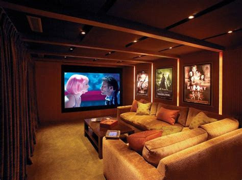small modern home theater ideas