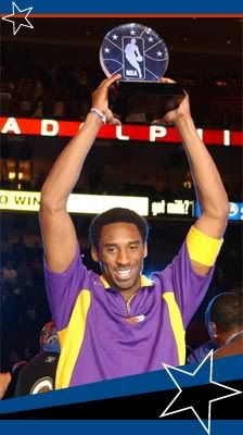 Kobe gets the All-Star MVP award