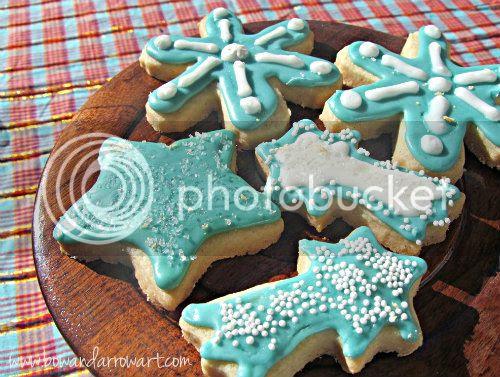 Gluten Free Shortbread Cookies www.bowandarrowart.com