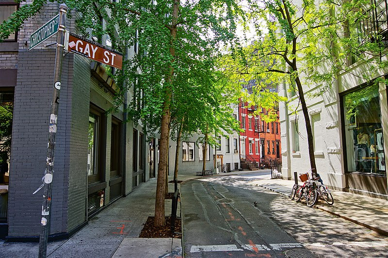 File:NYC - Greenwich Village - Gay Street.JPG
