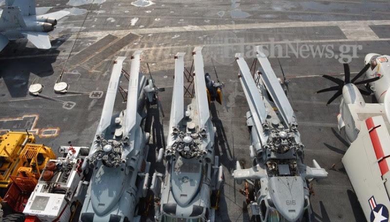 Οι Έλληνες του USS George Bush (Φωτό - Βίντεο) - Φωτογραφία 9