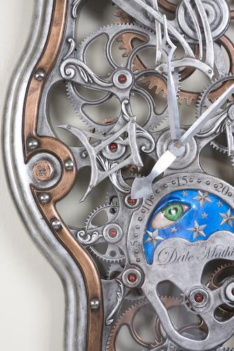 Relógio Salvador Daliano-detalhe