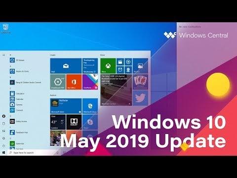 Upcoming Windows 10 Update